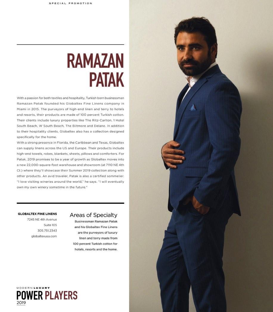 Ramazan Patek, Power Player 2019