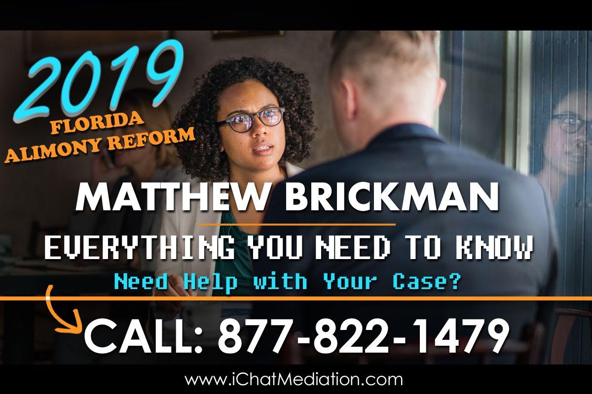 iMediate Inc Florida Alimony Reform 2019 - www.iMediateInc.com
