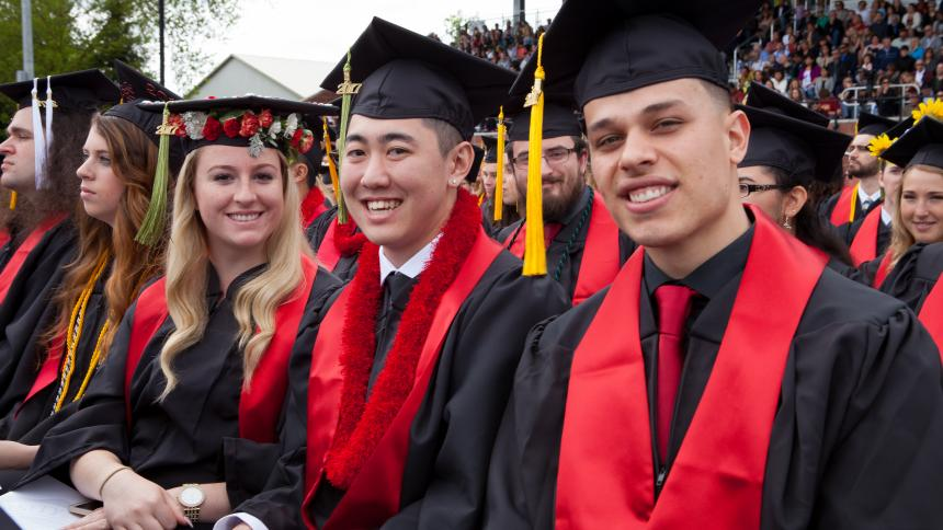Pacific University (Ore.) will hold its spring commencement ceremonies on May 18