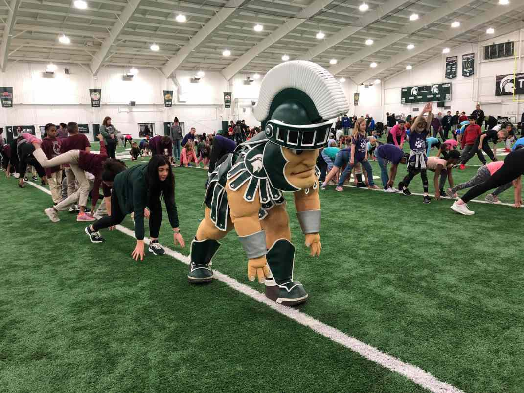 ACES Day with Sparty at Michigan State University