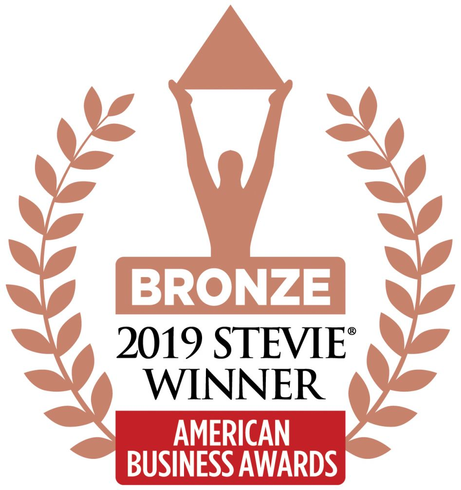 Stevie Bronze Winner Logo - SwipeClock's ApplicantStack Recruit