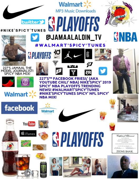 227's™ YouTube Chili' 2 GAME 7s! #NBAPlayoffs ABC, TNT! #Nike'Spicy' NBA Mix!