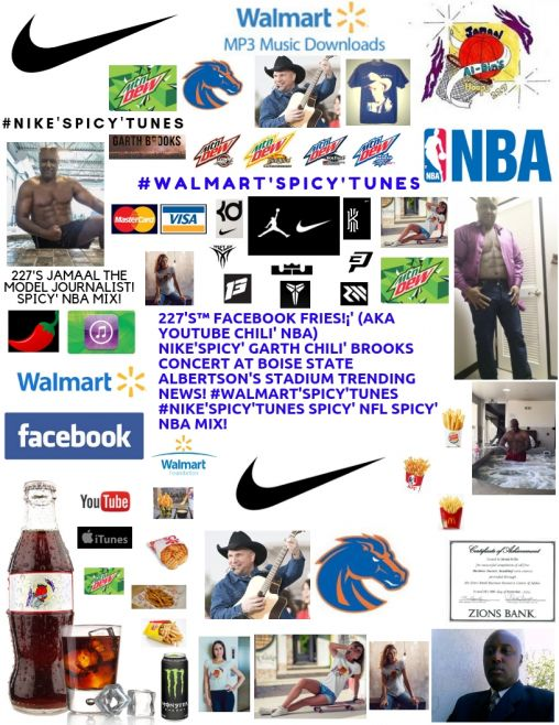 227's™ #Nike'Spicy'Tunes GARTH Chili' BROOKS Concert! Boise State Spicy' NBA!