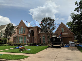 Kingdom Roof and Fence roofing project in the neig