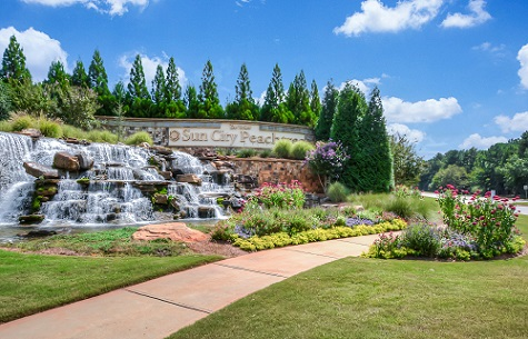 Del Webb's Sun City Peachtree in Griffin, Ga. Was the Ideal Backdrop for Poms