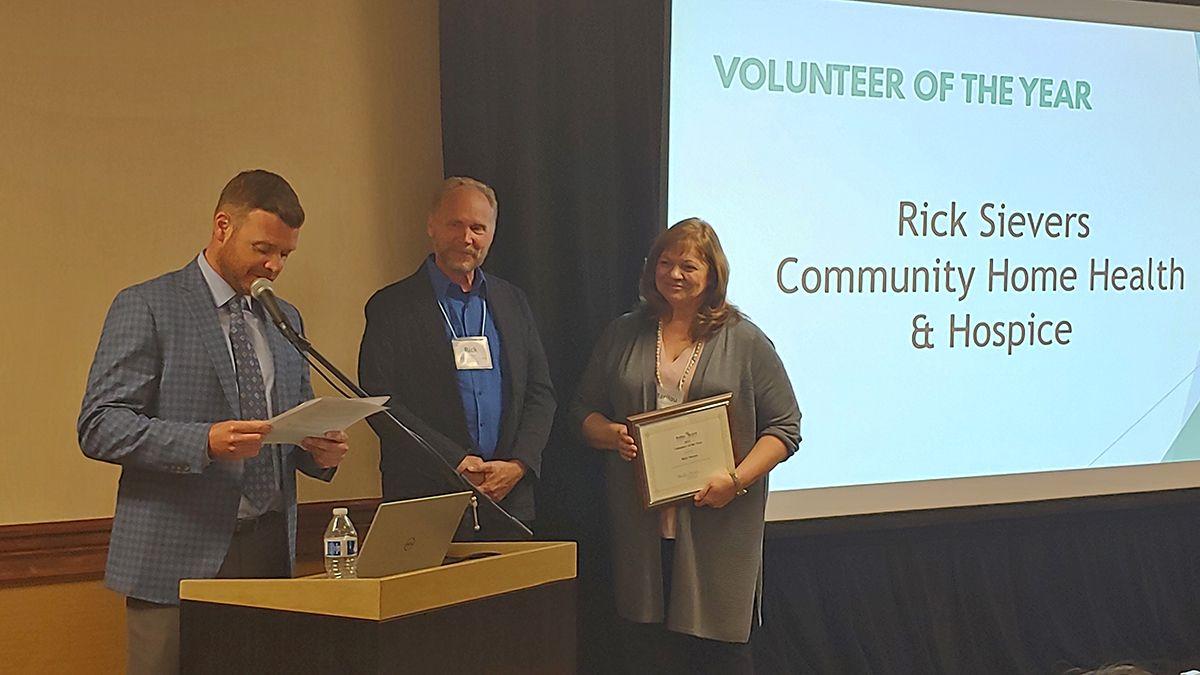 Rick Sievers Chosen as Volunteer of the Year