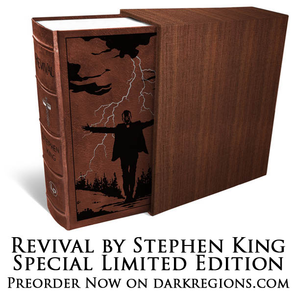 Stephen King's Revival Signed Special Edition Preorder on DarkRegions.com