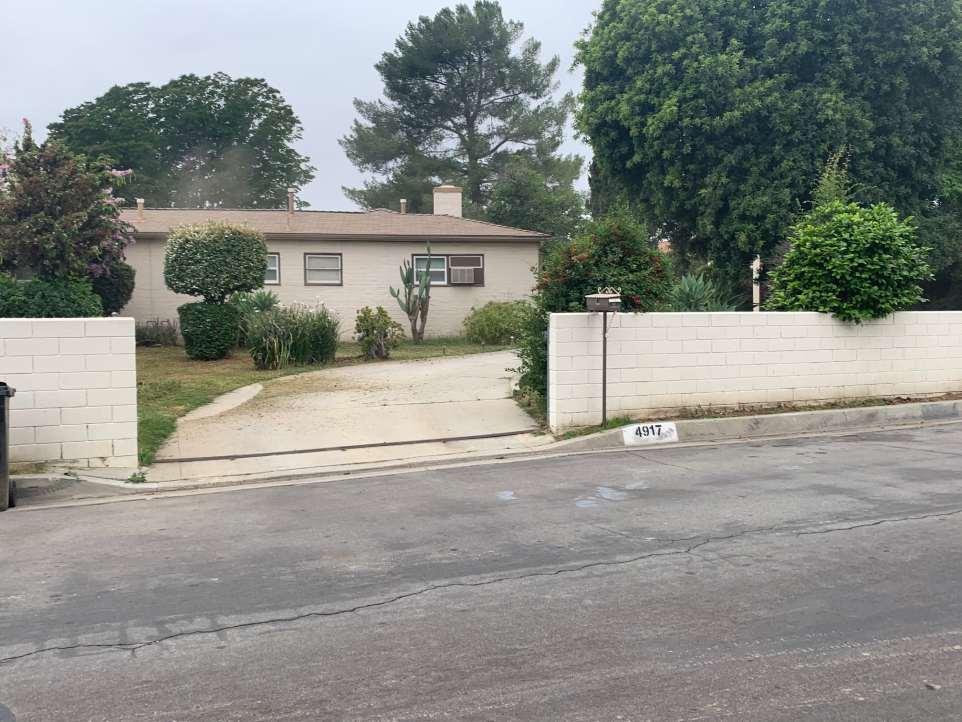 The Mathess home in San Gabriel