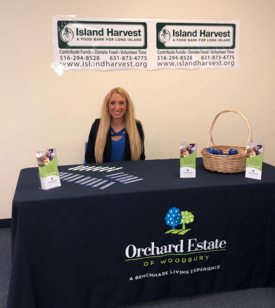 Orchard Estate of Woodbury Sponsoring Long Island Stamp Out Hunger