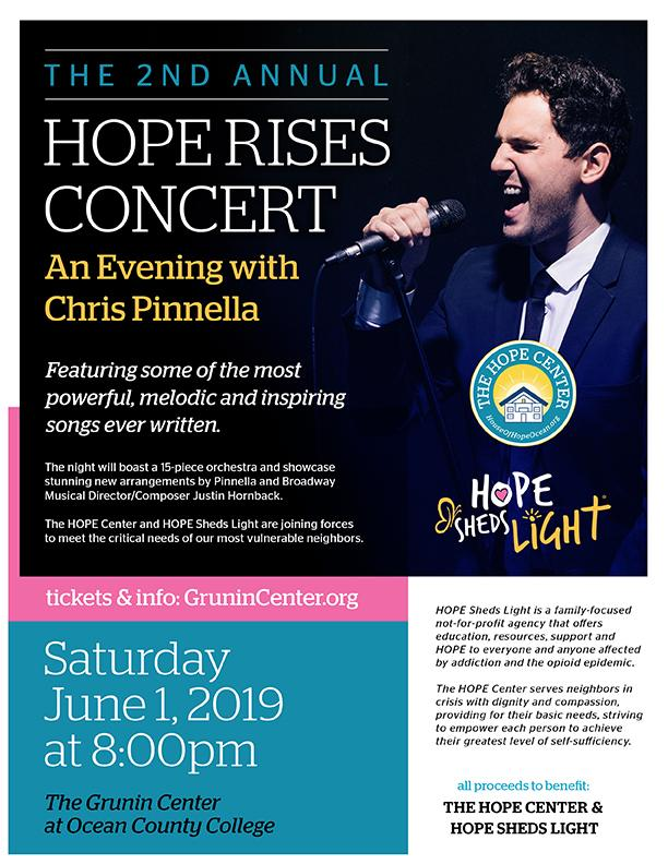The 2nd Annual HOPE Rises Concert will take place on June 1.
