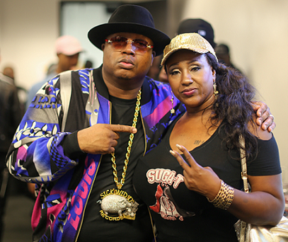 Suga-T (right) with E-40