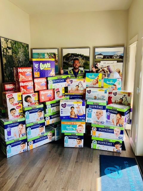 Lennar will be delivering a truck full of diapers to With Love, Oregon on Friday