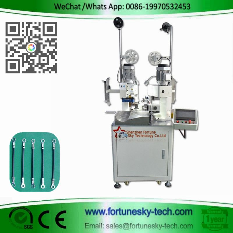 fully automatic both-ends single wire terminal cri