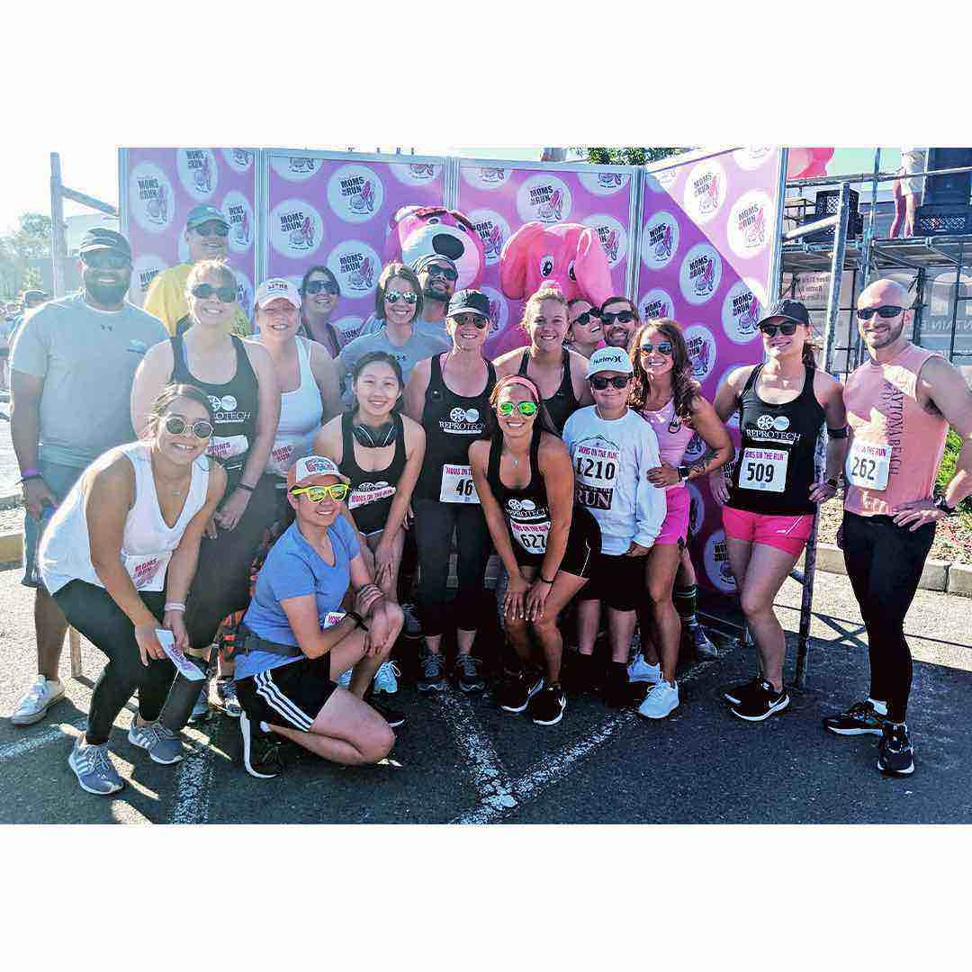 ReproTech Nevada Staff at Moms on the Run