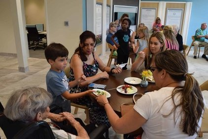 Mother's Day at the Clearwater Community Volunteer