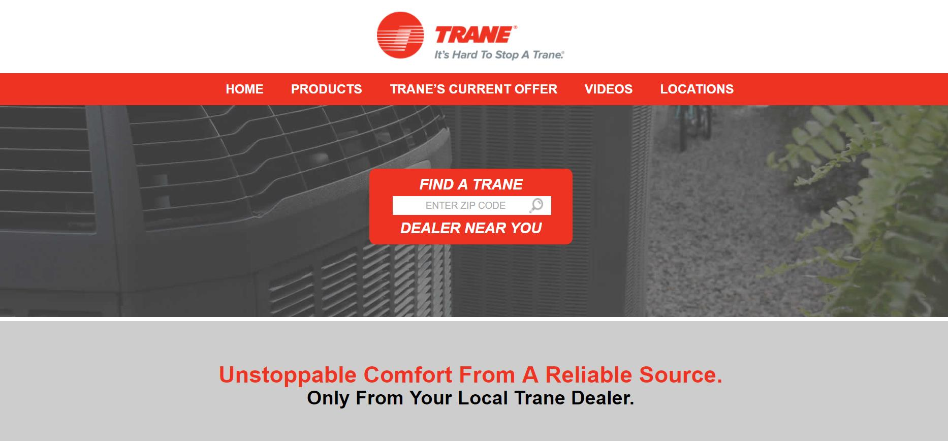 Woodson and Bozeman Launches New FindMyTrane.com Website