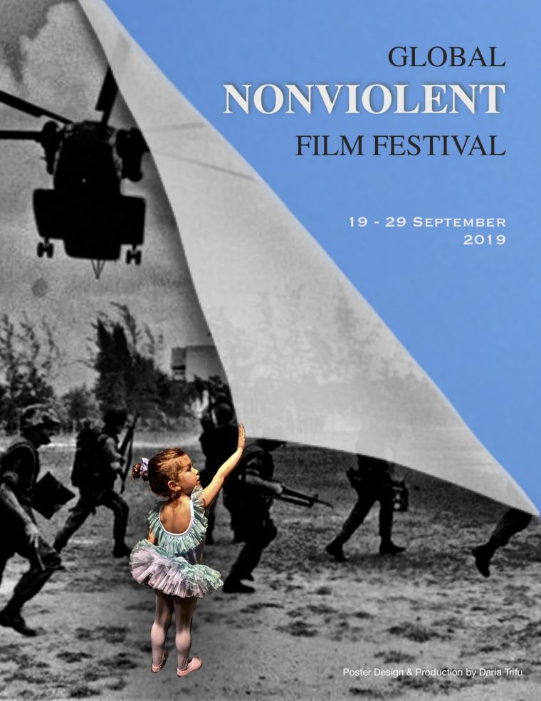 Global Nonviolent Film Festival - Official Poster 2019. All rights reserved.