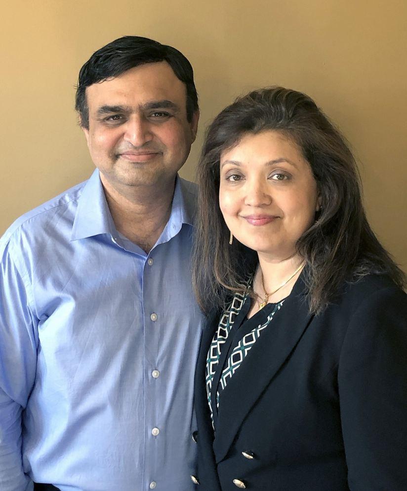 Sudeep and Namrata Dewan