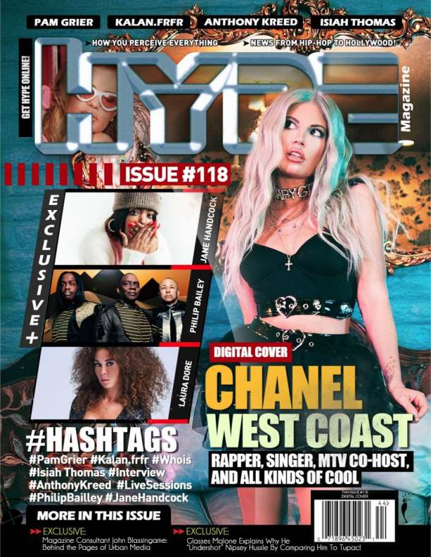 Chanel West Coast Covers The Hype Magazine