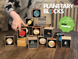 Planetary Blocks: The twenty worlds of our Solar System as a set of toy blocks