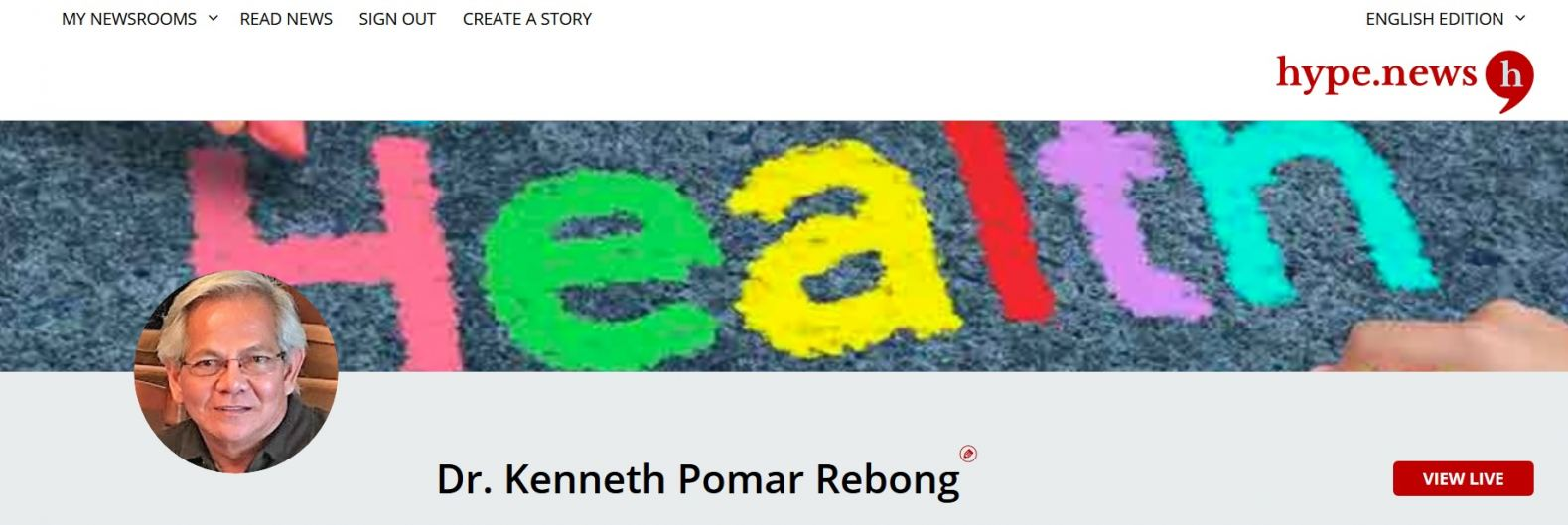 News about Dr Kenneth Pomar Rebong, California pediatrician
