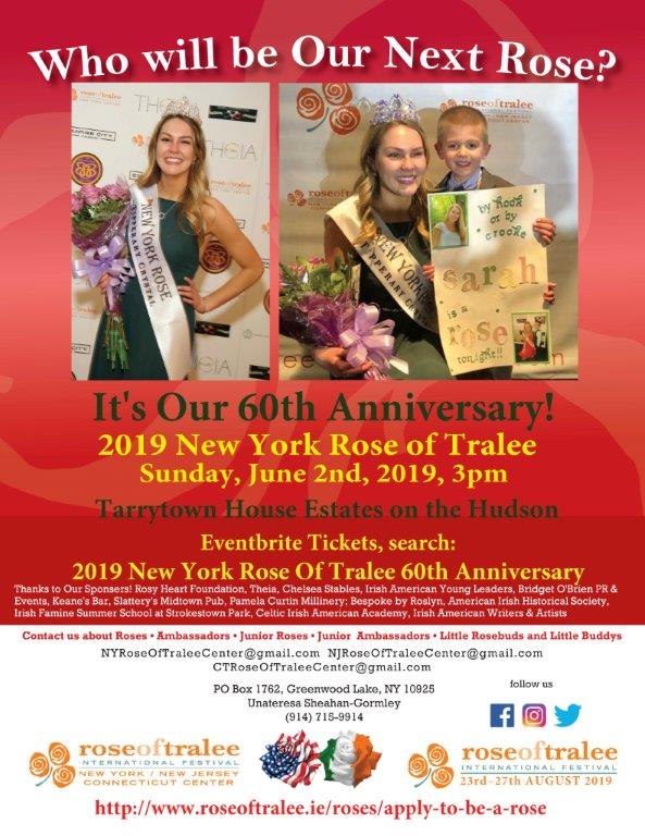 Join Us for the NY Rose of Tralee Selection