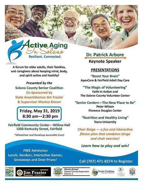 Senior Coalition's Active Aging Forum