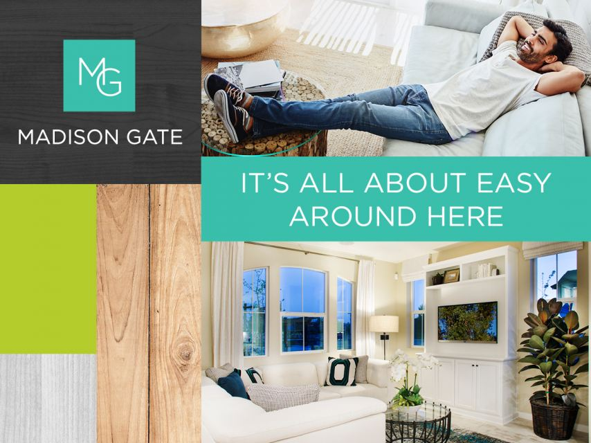 The living is easy in the beautiful townhomes at Madison Gate in Morgan Hill.