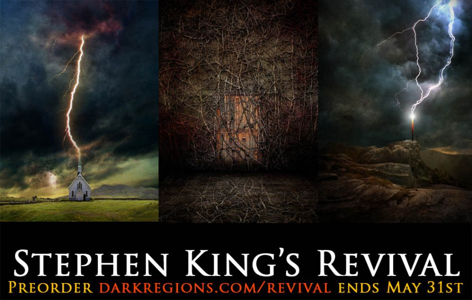 Preorder Revival by Stephen King Special Edition on DarkRegions.com