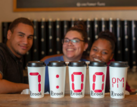 Rook Coffee is open until 7PM at nine locations
