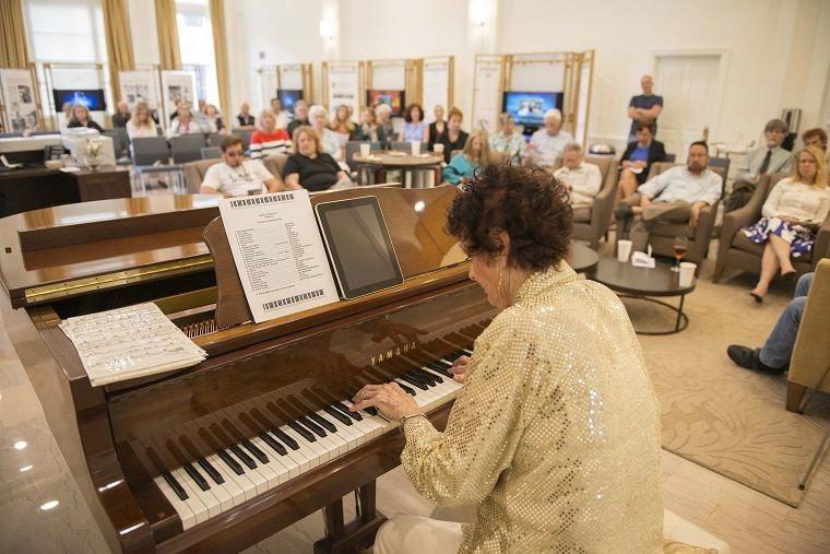 Community piano concert at the Scientology Information Center