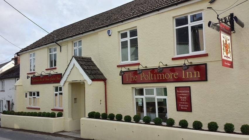 The Poltimore Inn, North Molton, Devon - biker-friendly accommodation
