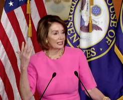 "Pelosi Prays for Trump ""Master of Distraction""/5-23-19 Capitol Hill News Session"