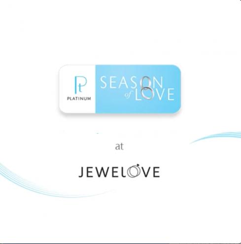 Platinum Season of Love at Jewelove
