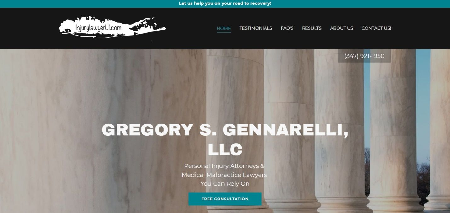 Gregory S. Gennarelli, LLC Launches New Website