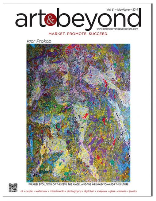 Art & Beyond May/June Cover 2019