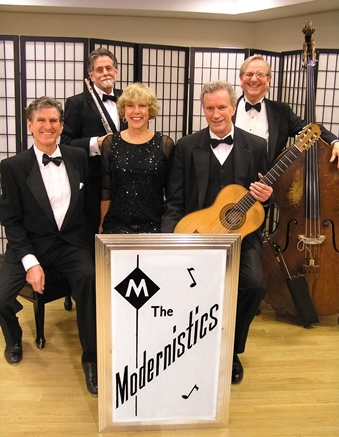 The Modernistics Ted and Pamela Powers, Peter H. Bloom, Mark Leighton, Dave Zox
