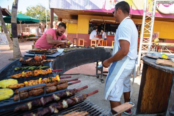 BBQ at Casibari Cafe