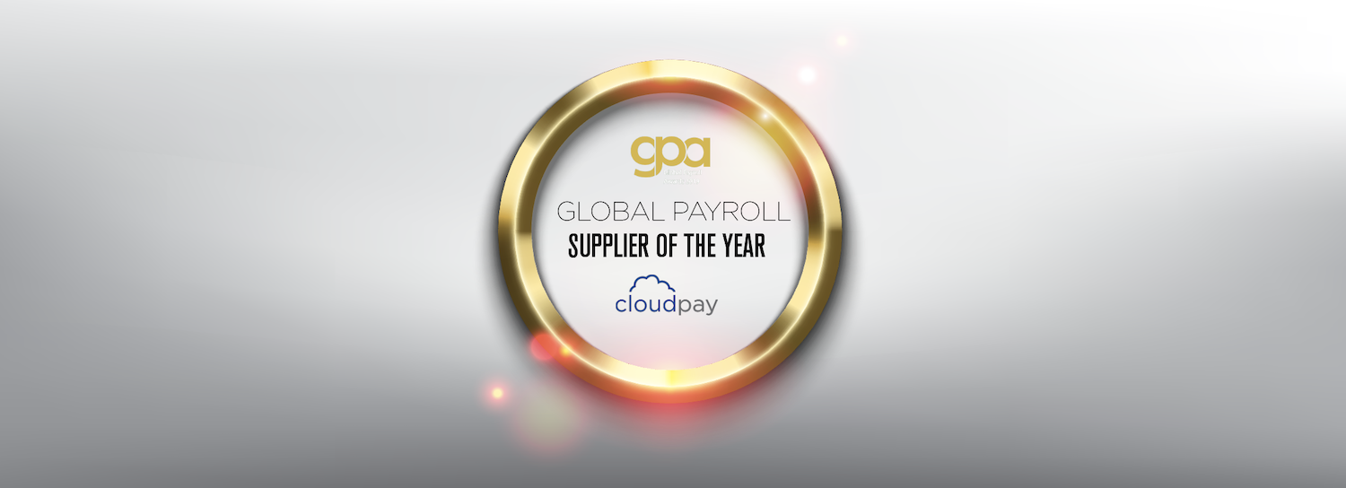 CloudPay - Global Payroll Supplier of the Year