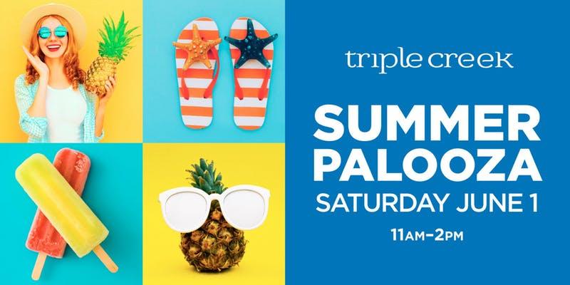 Triple Creek's Free SummerPalooza event is June 1