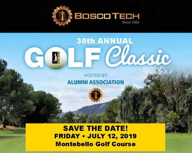 Bosco Tech Golf Classic is July 12