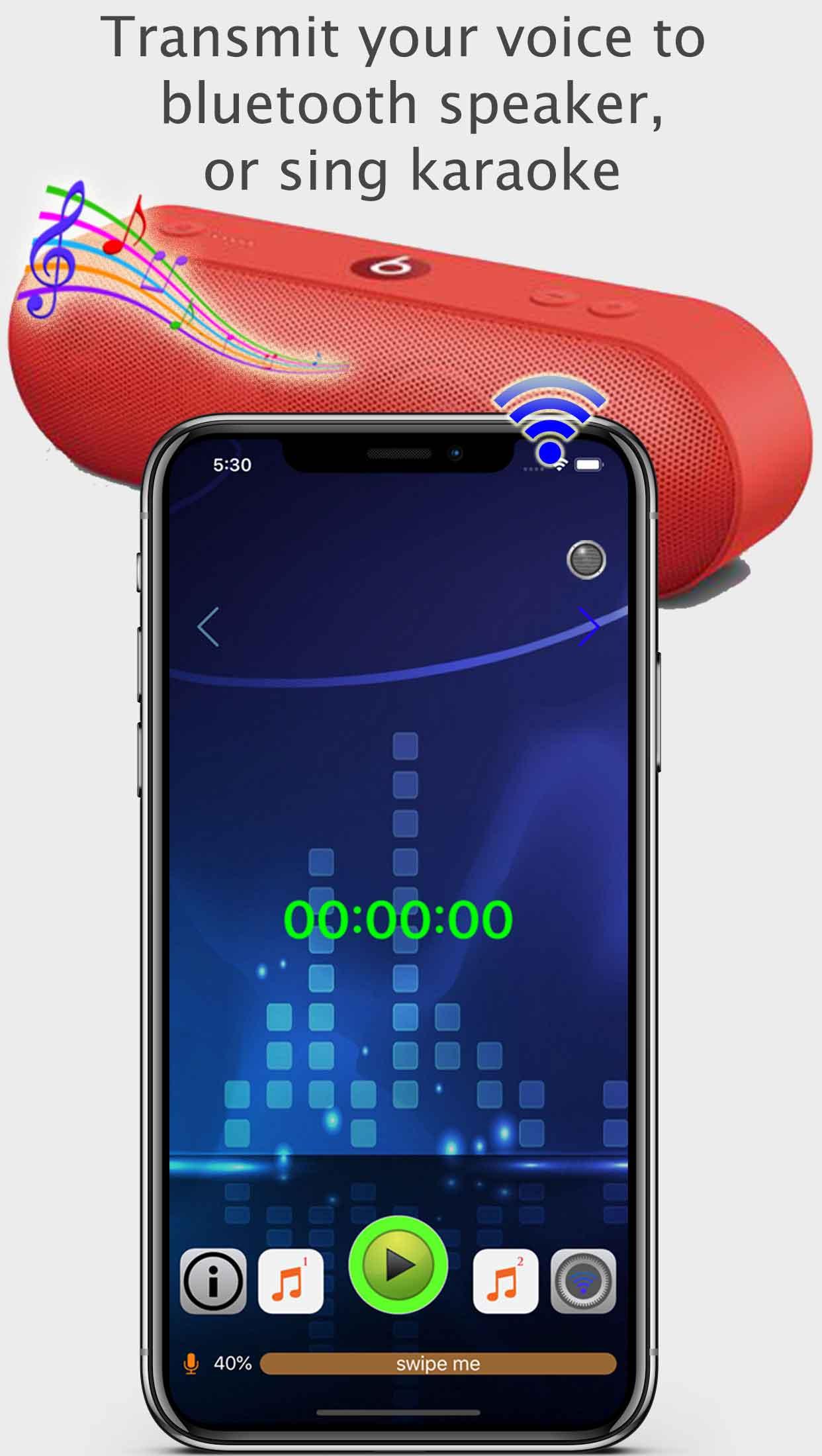 Bluetooth Loudspeaker screenshot