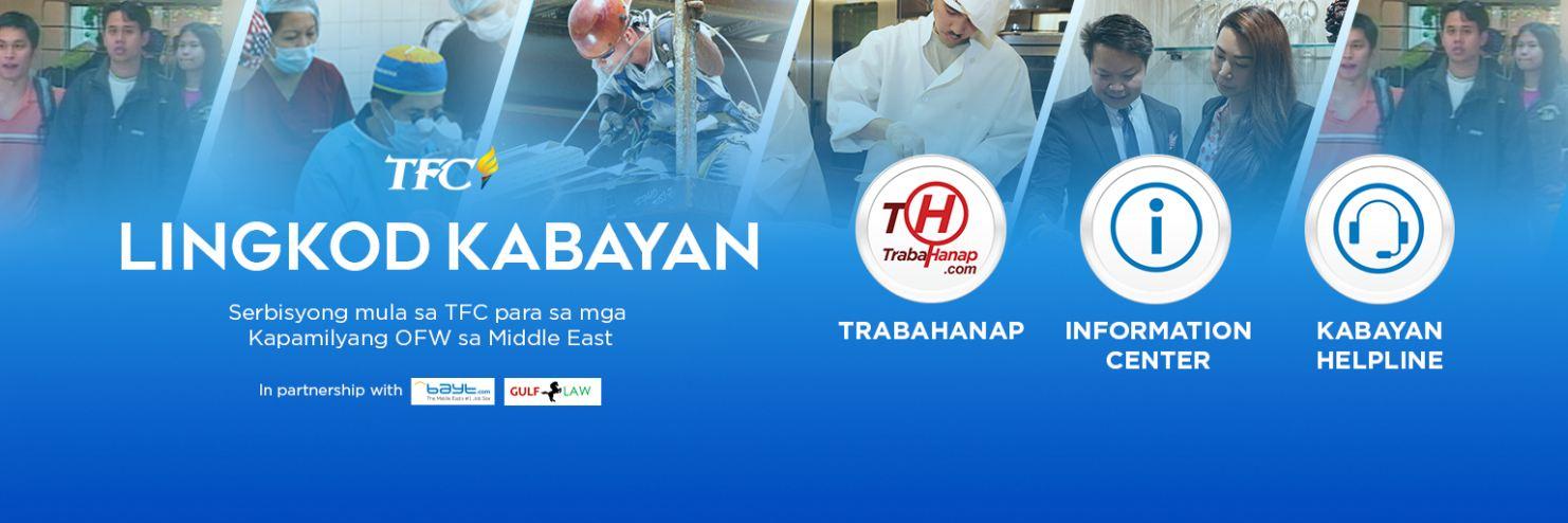 Visit the Lingkod Kabayan site at me.mytfc.com