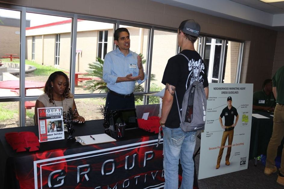 Group1 Automotive participates in Tomball EDC Job Fair