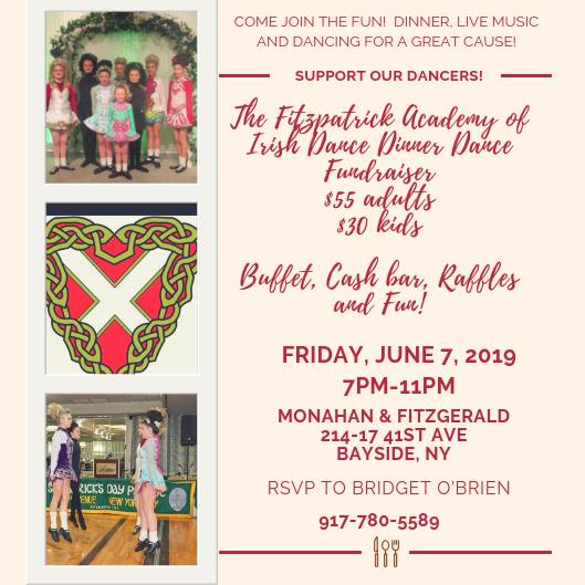 Fitzpatrick Academy Fundraiser June 7 at Monahans