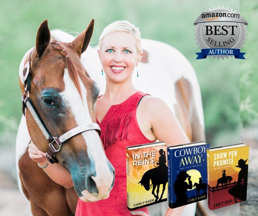 Amazon Best Selling Author Carly Kade