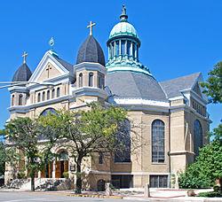 Notre Dame de Chicago Church.