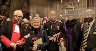 Dr Hoyle; Lady Hale; Sir Olisa; Baroness Scotland & Prof Imafidon