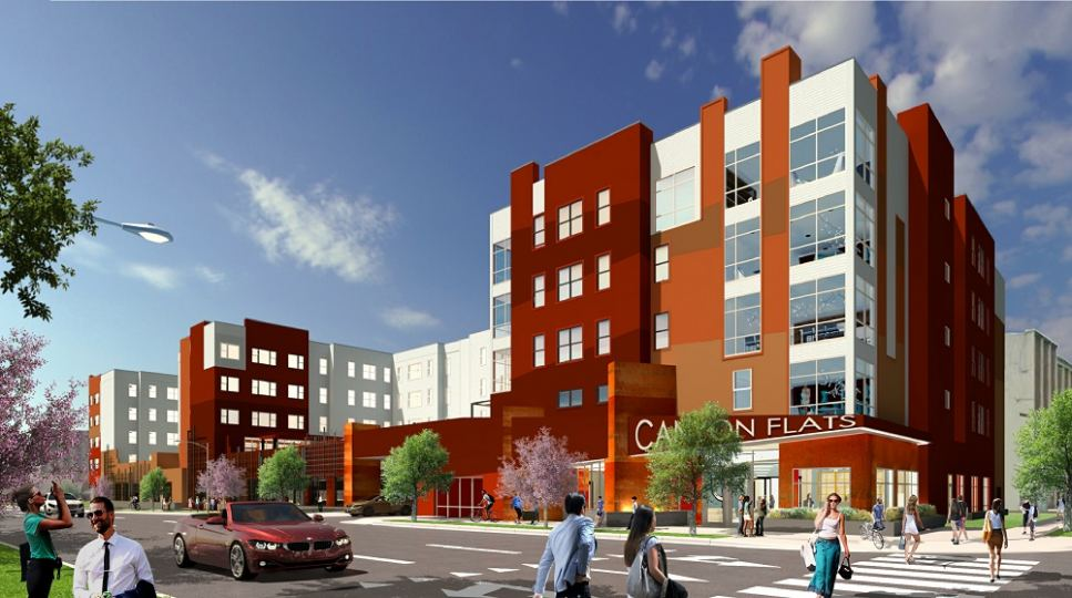 Rendering of Canyon Flats