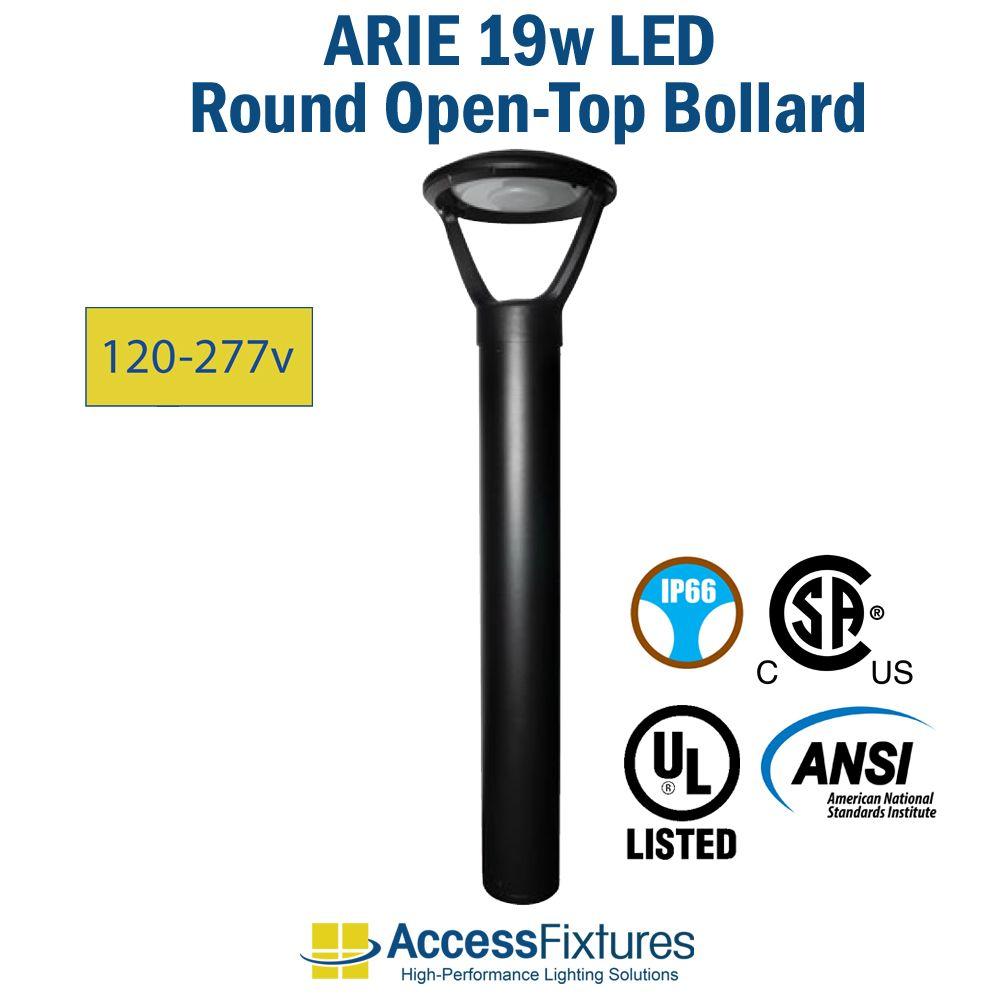 ARIE-LED-19w-Round-Open-Top-Bollard-120-240v